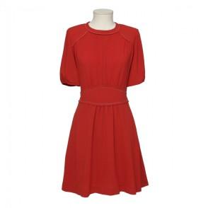 red-silk-short-dress