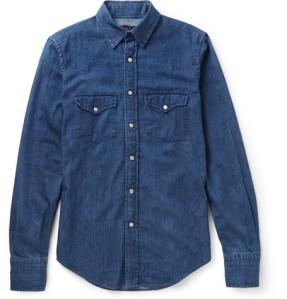 camicia jeans_maison chateaux