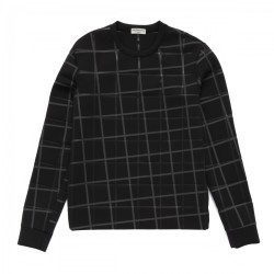 plaid-sweatshirt-balenciaga