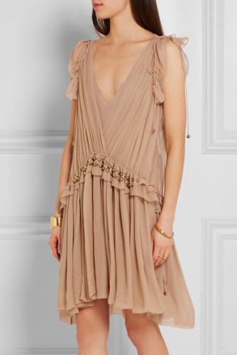 chiffon mini dress chloe_maison chateaux